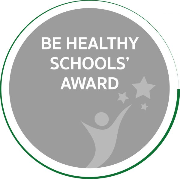 Be Healthy Schools' Award Logo