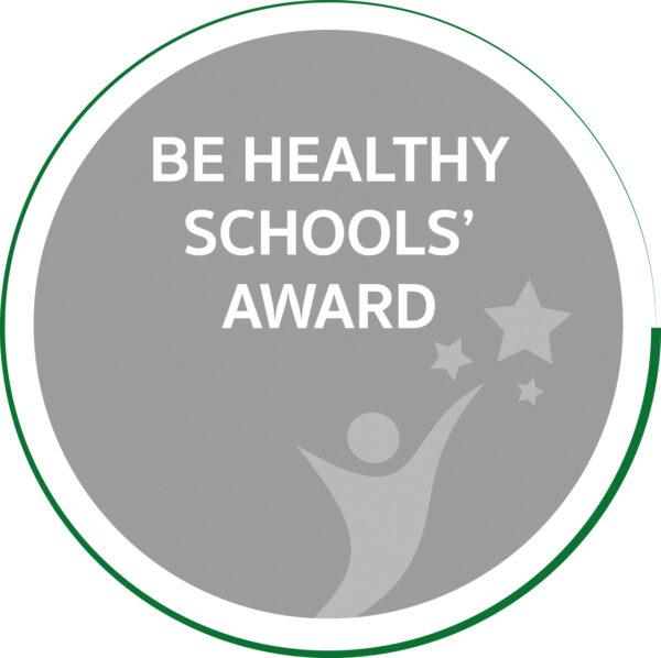 Be Healthy Schools' Award Logo