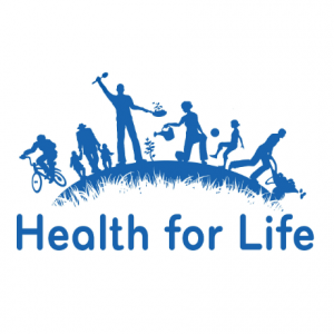 Health for life programme logo.