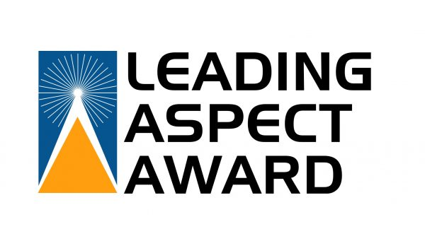 leading aspect award logo - services for education