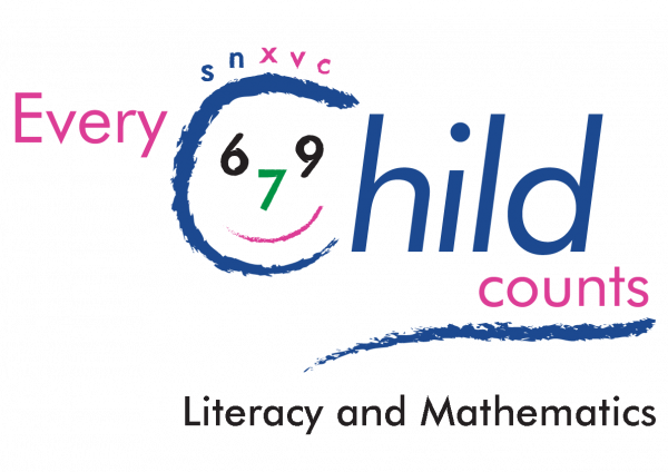 Every child counts literacy and mathematics interventions logo - with Services For Education