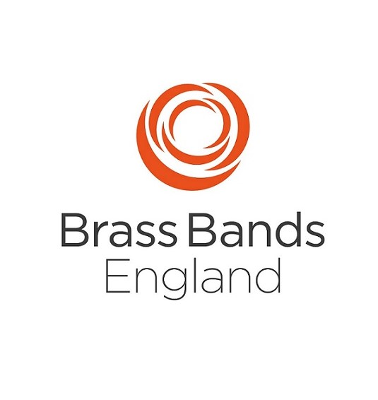 Brass bands england award logo, won by services for education