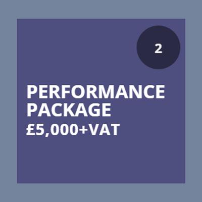 performance sponsorship package