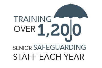 Training over 1,200 staff