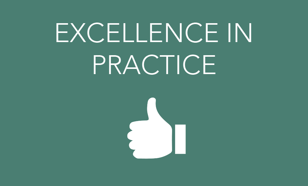 EXCELLENCE IN PRACTICE