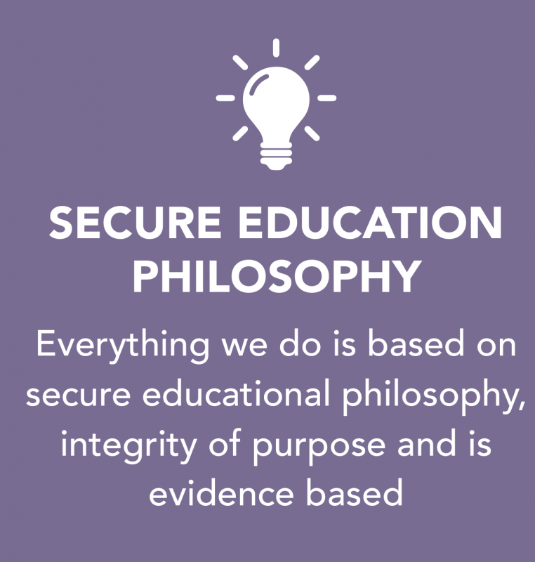 SECURE EDUCATION PHILOSOPHY